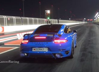 «Καταπέλτης» Porsche 911 Turbo S 1.500 PS (+video)
