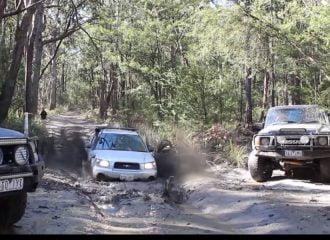 Subaru Forester εκθέτει καθαρόαιμα off road (+video)