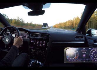347 χλμ./ώρα με VW Golf R 740 ίππων! (+video)
