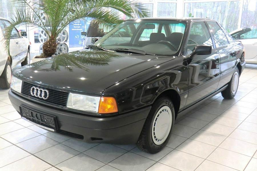 Άφθαρτο Audi 80 1.8S του 1991 με 17.300 χλμ. - AutoGreekNews