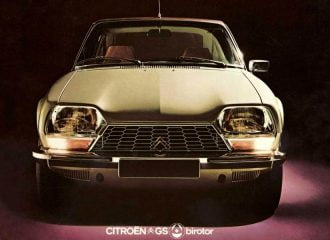 Γνωρίζετε το Wankel Citroen GS Birotor;
