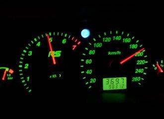 0-200 χλμ./ώρα με νορμάλ Ford Focus RS Mk1
