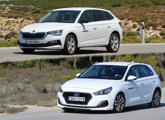 Hyundai i30 1.0 T-GDi 120 PS ή Skoda Scala 1.0 TSI 116 PS