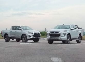 Το νέο Mitsubishi L200 κόντρα στο Toyota Hilux (+video)