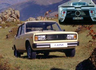 Πιο σπάνιο το Lada 2105 από Pagani!