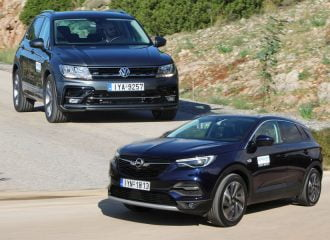 Opel Grandland X 1.5D VS VW Tiguan 1.6 TDI