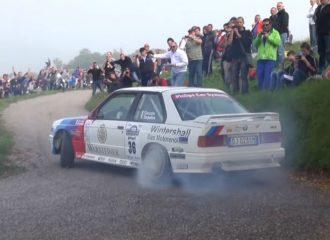 BMW M3 E30 οργιάζουν στις ειδικές διαδρομές (+video)