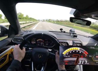 Καταιγισμός από Lamborghini Urus 960 HP (+video)