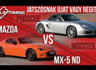 Είναι ταχύτερο το Mazda MX-5 από Porsche Boxster;