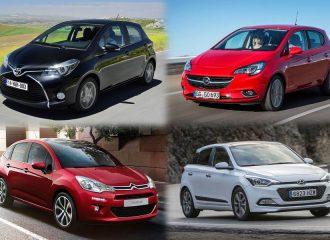 Μικρά ντίζελ αυτοκίνητα 5ετίας σε χαμηλές τιμές