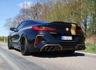 BMW M8 823HP κάνει το 0-100 σε 2,6 δλ.! (+video)