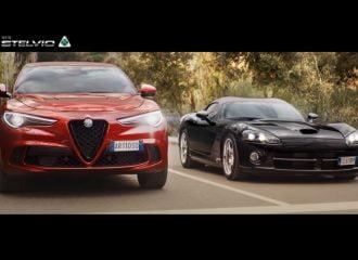 Η Alfa Romeo Stelvio QV «σκιάζει» το Viper! (+video)