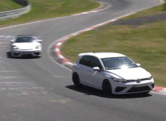 Το νέο VW Golf R επί τω έργω (+video)