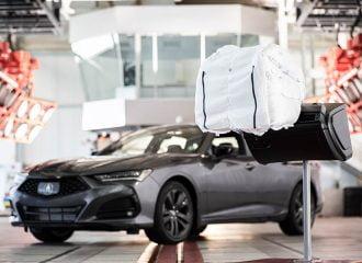 Πρωτοποριακός αερόσακος από την Acura (+video)