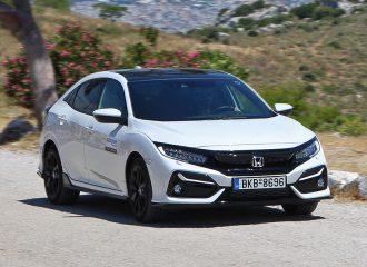 Δοκιμή Honda Civic 1.5 λτ. VTEC Turbo 182 PS CVT