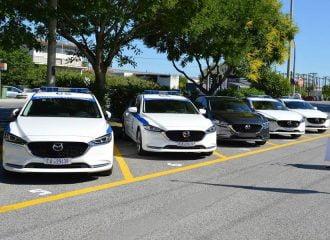 Mazda6 για την Ελληνική Αστυνομία