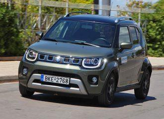 Δοκιμή Suzuki Ignis 1.2 Hybrid 83HP 2WD