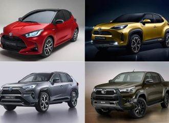 Όλα τα νέα μοντέλα της Toyota για το 2020