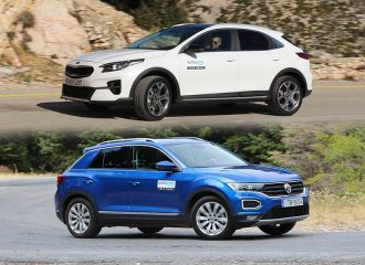 Kia XCeed 1.4 T-GDi vs VW T-Roc 1.5 TSI