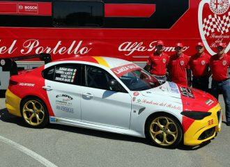Μια Alfa Romeo Giulia QV έτοιμη για κούπες!
