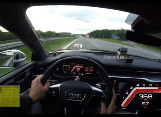 Audi RS7 962 ίππων πιάνει 363,7 χλμ./ώρα (+video)