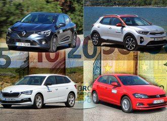 Καινούργια αυτοκίνητα με έως 15.000 ευρώ