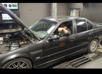 Ελληνική BMW 328 E36 «πυροβολεί» (+video)