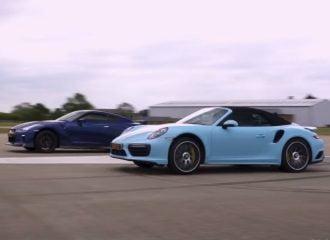 H 911 Turbo S «σβήνει» Nissan GT-R 700HP (+video)