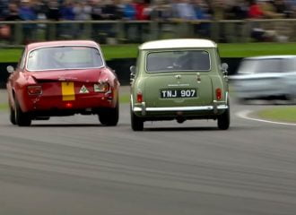 Ανελέητο κυνήγι Mini Cooper σε Alfa GTA (+video)