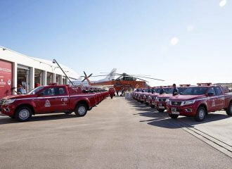 Δωρεά 20 πυροσβεστικών από την Παπαστράτος
