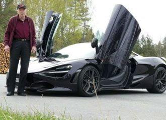 Παππούς με McLaren 720S Spider! (+video)