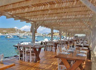 Εστιατόριο θαλασσινών Απάγκειο στη Μύκονο