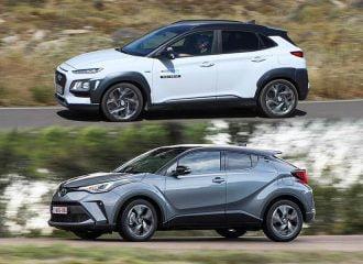 Hyundai Kona Hybrid vs Toyota C-HR Hybrid