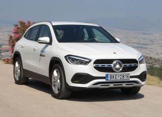 Δοκιμή Mercedes GLA 200 7G-DCT 1.33 λτ. 163 PS