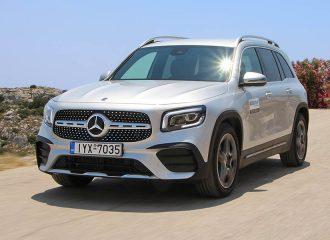 Δοκιμή Mercedes GLB 200 7G-DCT 1.33 λτ. 163 PS