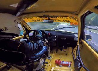 Peugeot 106 GTi «ξυρίζει» σε ανάβαση (+video)