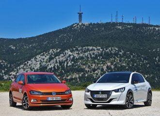 Peugeot 208 1.2T EAT8 vs VW Polo 1.0 TSI DSG