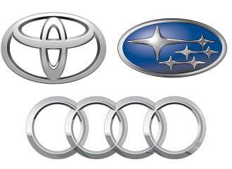 Ανακλήσεις μοντέλων Audi, Subaru και Toyota