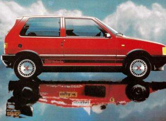 Το απίστευτο γκάζι του Fiat Uno Turbo i.e. (+video)