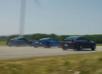 Το GT-R «διδάσκει» Corvette και AMG GT 63 S (+video)
