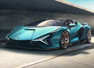 Νέα και πανίσχυρη υβριδική Lamborghini Sian Roadster