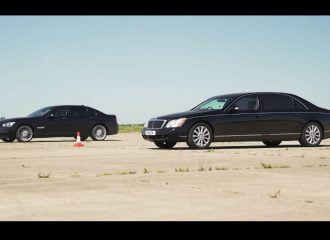 Κυριλέ «ξύλο» μεταξύ Maybach και BMW 760Li (+video)