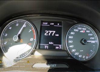 Καταιγισμός από SEAT Ibiza Cupra 363 HP (+video)