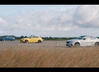 «Γερμανικό» με A45 S, M2 CS και RS 3 450HP (+video)