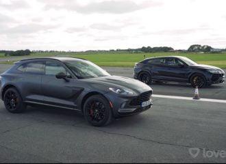 Μπορεί να αντισταθεί η Aston DBX στην Urus; (+video)