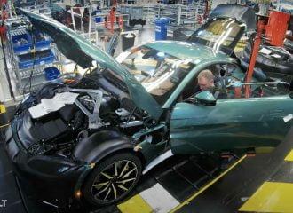Πώς κατασκευάζεται η Aston Martin Vantage (+video)