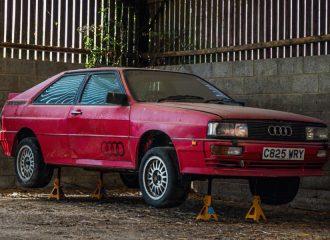 Audi Quattro βρέθηκε μετά από 25 χρόνια