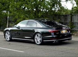 Τo Audi S8 κάνει το 0-100 σε 3,2 δλ.! (+video)