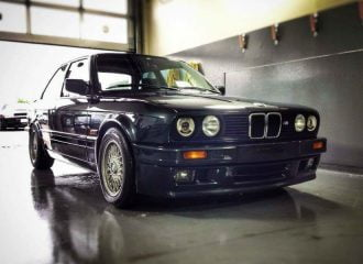 Υπερ-σπάνια BMW 320is με το μοτέρ της M3 E30