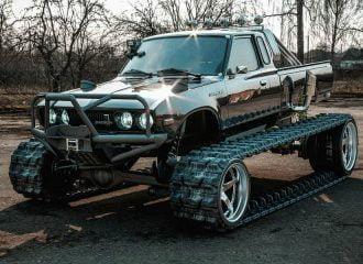 Φανταστικό Datsun έτοιμο για πόλεμο